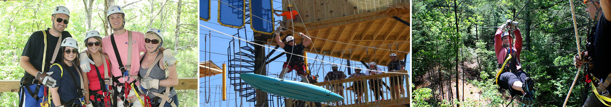 ZipLine Canopy Tours Vs Adventure Park