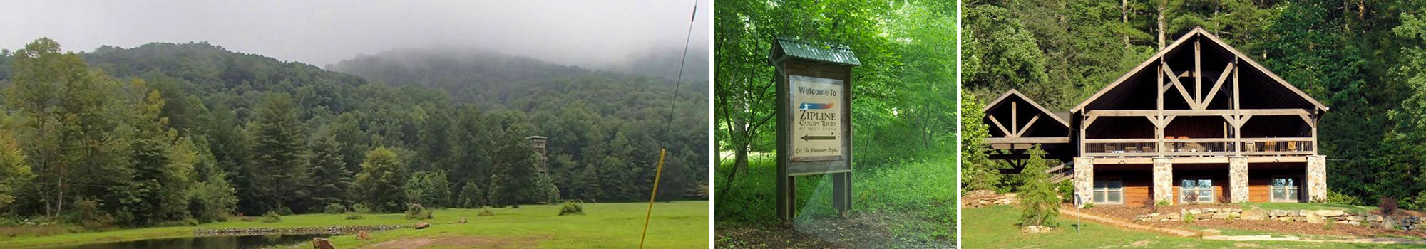 ZipLine Canopy Tours of Blue Ridge Lodging