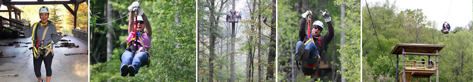 ZipLine Canopy Tours of Blue Ridge, Georgoa