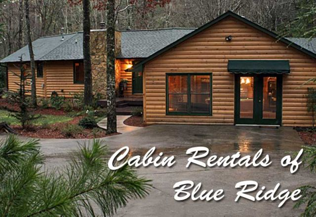 Blue Ridge Cabin Rentals Amp Accommodations